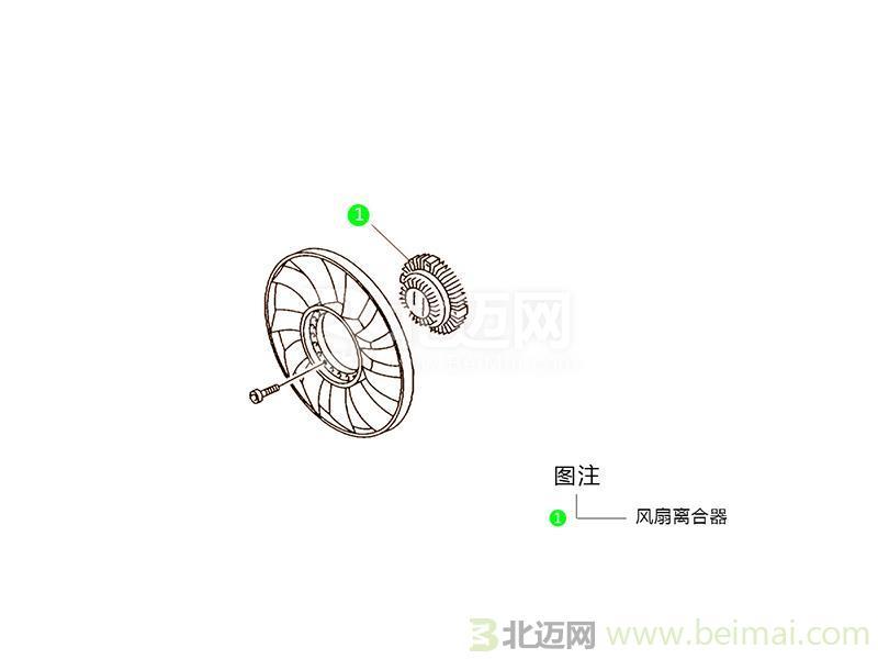 【迈氏认证】长安铃木冷却风扇皮带轮【价格表