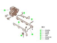 正厂 上海通用别克 凯越 1.8L 五挡手动 三厢 (2005-2007) 燃油滤清器进油管