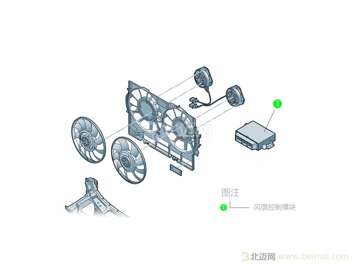福特新江铃风扇电路图