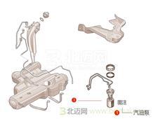 【迈氏认证】原厂正品进口现代 新胜达(圣达菲) 2.7L 四挡手自一体 (2006-2012) 汽油泵