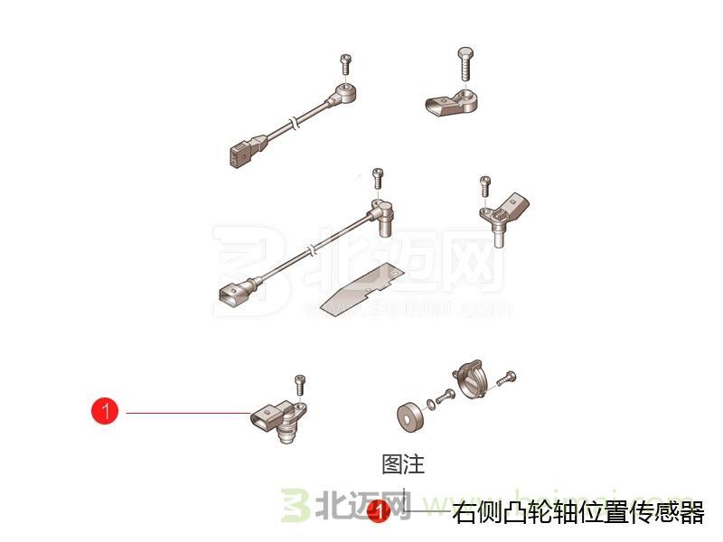 右侧凸轮轴位置传感器