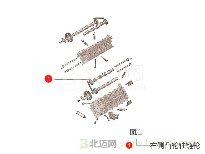 【迈氏认证】海马汽车海福星右侧凸轮轴链轮【价格表