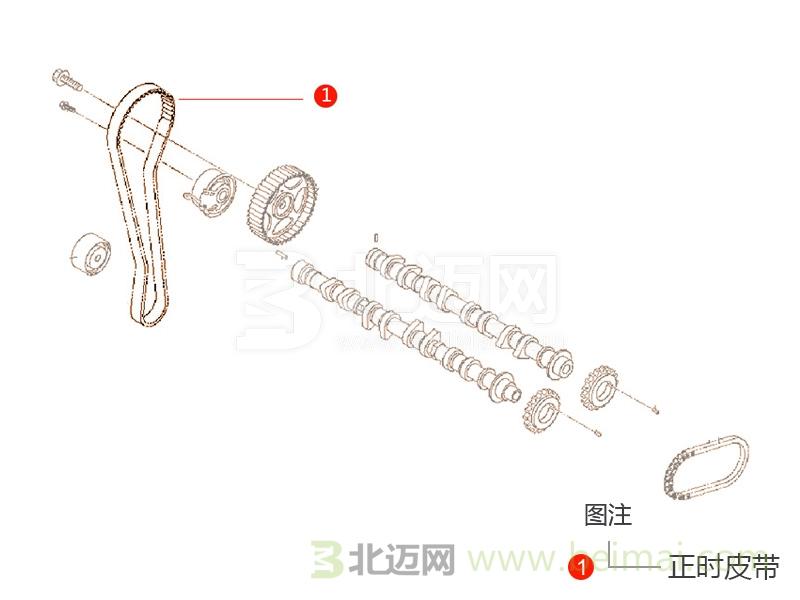 【一汽大眾新速騰正時皮帶價格】適用于2012款至2015
