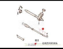 迈氏 上海大众 波罗 劲情 1.4L 五挡手动 (2006-2010) 右侧方向机球头